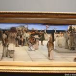HAMBURG KUNSTHALLE, LAWRENCE ALMA-TADEMA, A DEDICATION TO BACCHUS 073