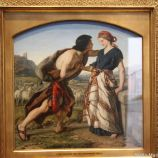 HAMBURG KUNSTHALLE, WILLIAM DYCE, JACOB MEETING RACHEL 089