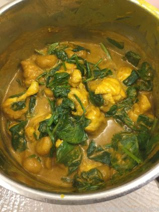 JAVANESE MONKFISH AND SPINACH 003