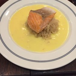 POMPETTE, RIVER TROUT, CHOUCROUTE AND RIESLING BUTTER SAUCE 010