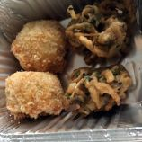 THE FOLLY, LOCKDOWN TASTING MENU NO. 7, THAI GREEN ARANCINI, SAG ALOO BAHJI 005