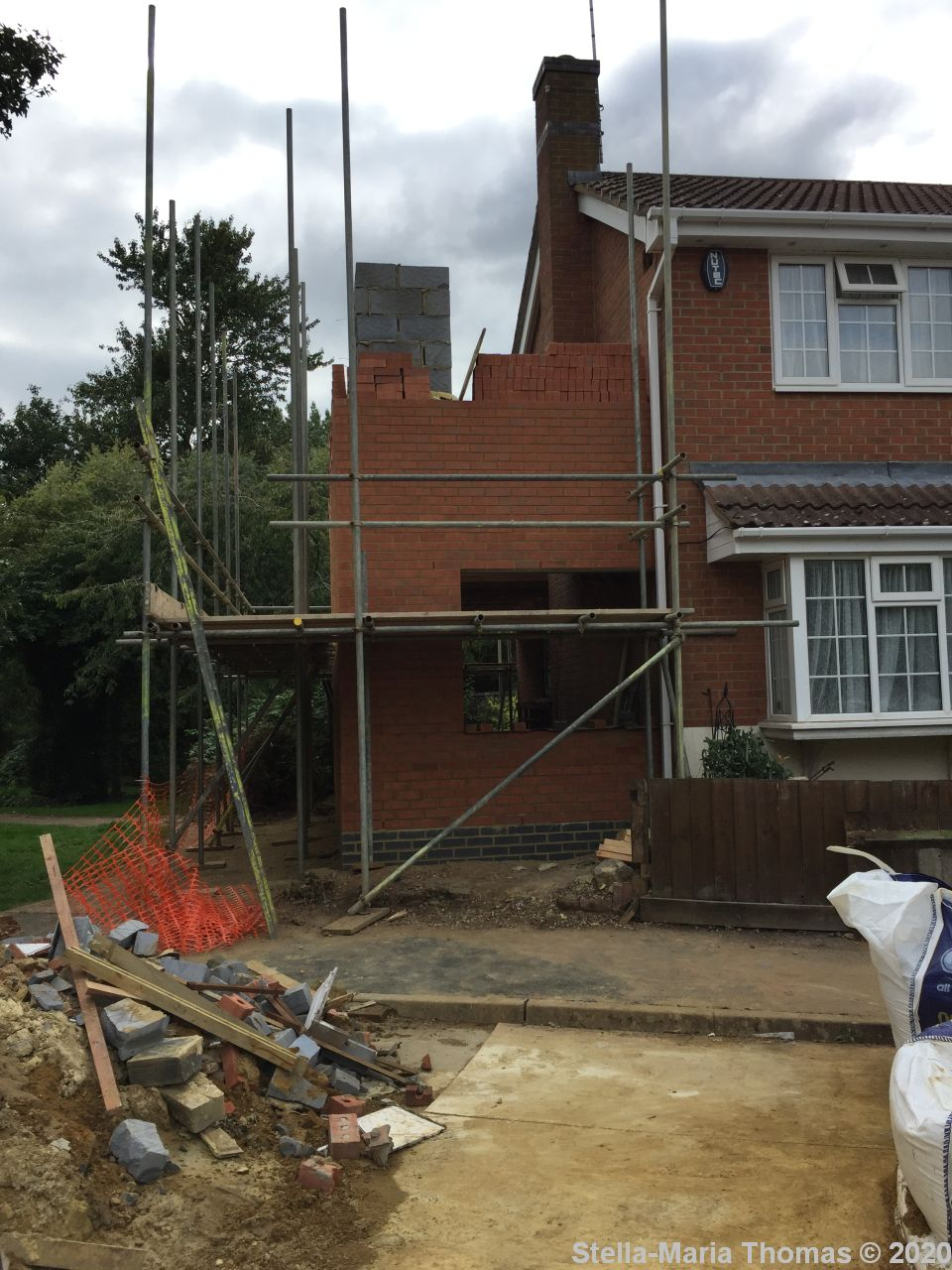 Home 2020 – The Great House Extension Project (Days 8 – 44)